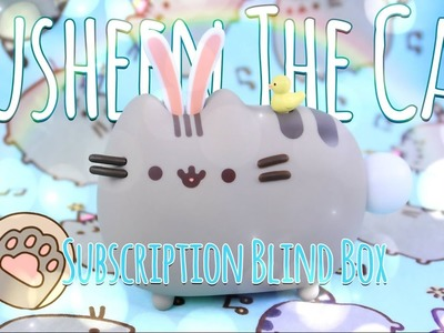 Unbox Daily: PUSHEEN THE CAT Subscription Blind Box | Vinyl Fugure, Clothing & Much More