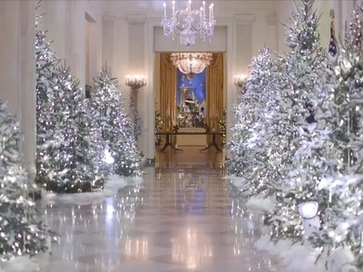 An Inside Look at Melania Trump's White House Holiday Decorations
