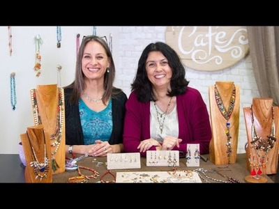 Artbeads Cafe - TierraCast's Soulful Spirit Collection with Cynthia Kimura and Tracy Gonzales