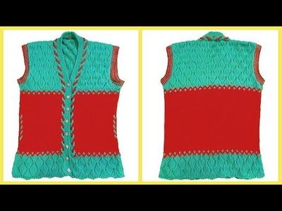 Brand New Design of Ladies Half Jacket  Easy Tutorial   Fashion Design   Make up & Design by Apoorvi