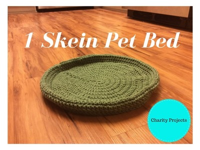 Charity Projects - 1 Skein Pet Bed