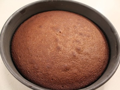 Dark Chocolate Sponge   Dessert Recipes   Sanjeev Kapoor Khazana