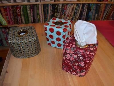 EPISODE 67 ~ Easy Gift ~ Fabric Tissue Box Tutorial