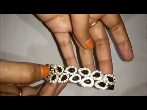 HOW TO MAKE SILK THREAD BRACELET EASY WAY IN HOME