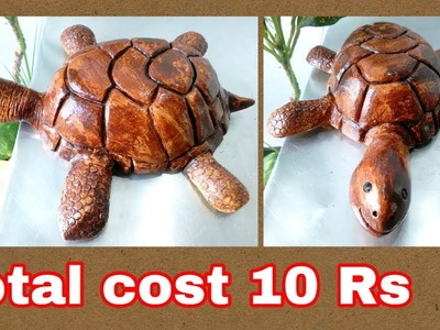 How to make turtle at home using plaster