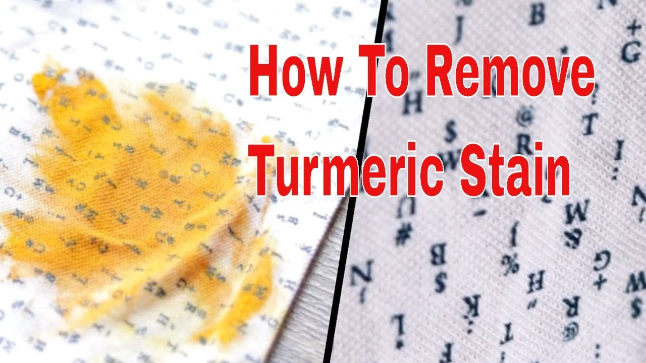 How To Remove Turmeric Stains From Clothes.Haldi ke daag kaise nikale?