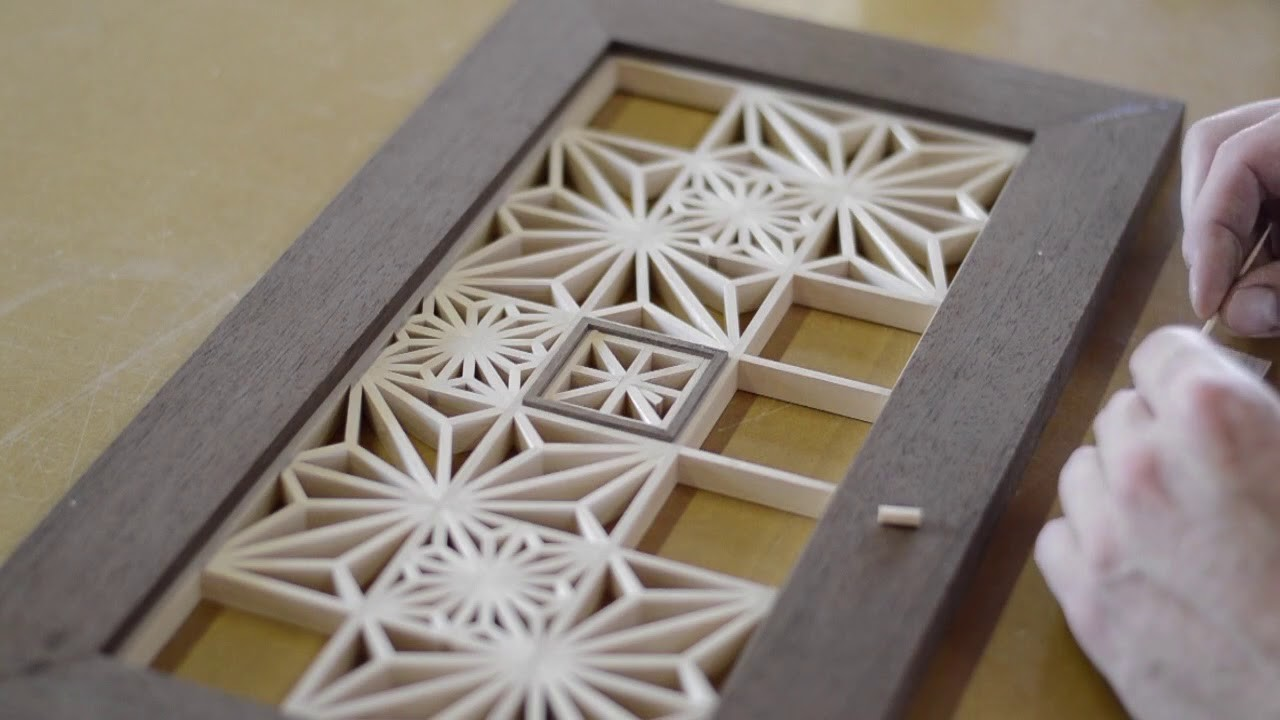 Kumiko Wall Art: Japanese Woodworking