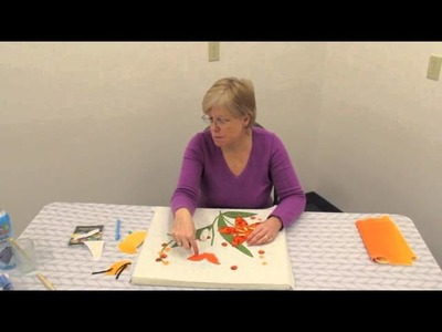 """Layering in Hand Applique Quilting - """"Peggy's Puzzle"""" Block 3"""