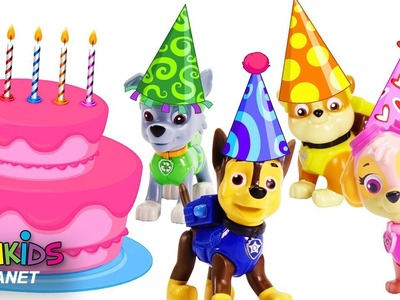 Learn Color with Paw Patrol Big Birthday Bash!