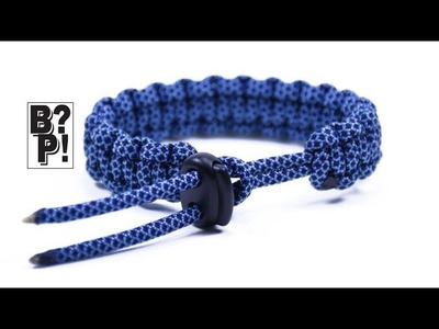 Make an Adjustable Paracord Bracelet by Using a Cord Lock  - BoredParacord.com
