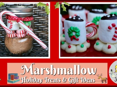 Marshmallow Holiday Gifts & Treat Ideas! | Baking With Josh & Ange