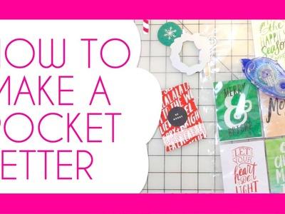 POCKET LETTERS. How I Make Them (Real-time Tutorial)