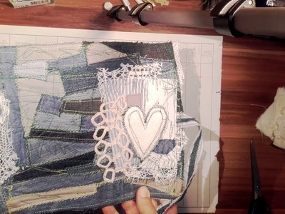 Recycling - Ideas for Fabric Journal Covers