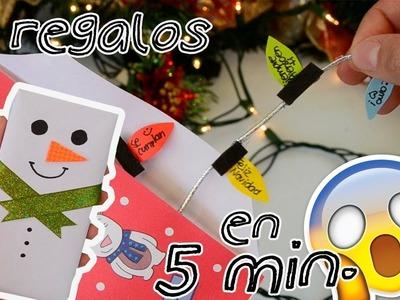 REGALOS PARA NAVIDAD EN 5 MIN