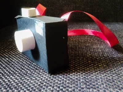 Reuse Empty Soap box to create a kids Camera. !!!