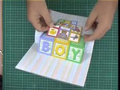 Robert Addams 1st Pop Up Card CD - Baby Boy.Girl Card
