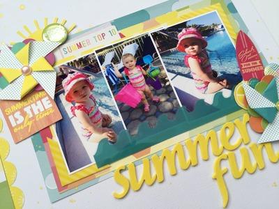 Sketchy Scrappers Series: Summer Fun
