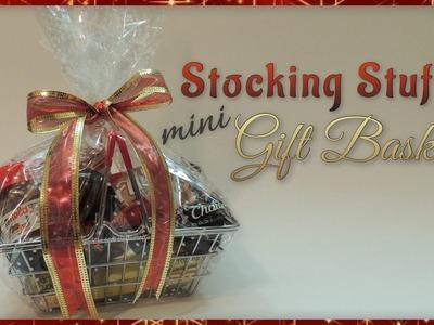 Stocking Stuffer Mini Gift Basket
