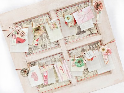 Sweet Peppermint Christmas Advent Calendar with Tiffany Solorio for Live with Prima