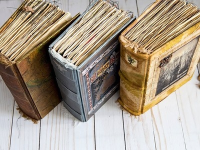 Three Journals for Etsy - Nik the Booksmith - (Sold)