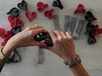 Valentine's DIY Heart Garland