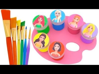 Best Learning Colors Video for Children Disney Princesses Paw Patrol RL