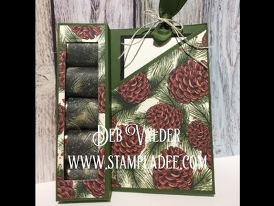 Candy Gift Box Card 12 Days of Gift Giving Day 2 with Deb Valder