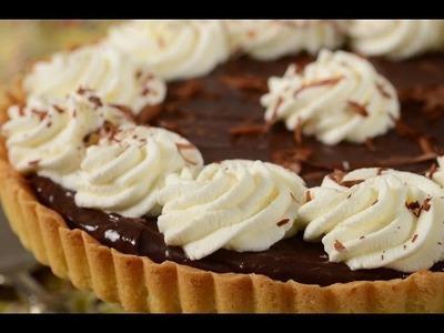 Chocolate Pie Recipe Demonstration - Joyofbaking.com