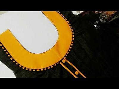 Designer neckline very easy