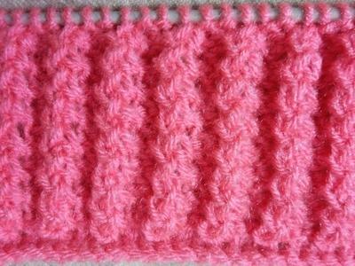 Easy Single Color Knitting Pattern No.102|Hindi
