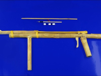 How to Make a Gun from Dry Bamboo