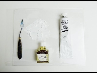 How to Make and Apply Liquid White Medium Free Oil Painting Lessons