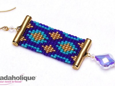 How to Make the Loom Statement Earring Kits by Beadaholique