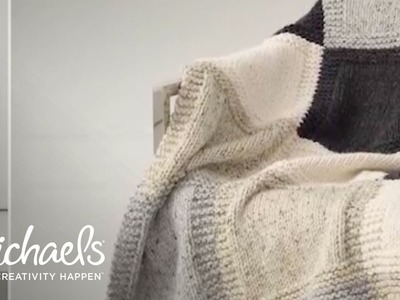 How To Mattress Stitch Your Afghan | Michaels