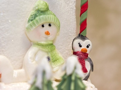 Karen Davies Cake Decorating Moulds. molds - Christmas - free beginners tutorial. how to - Snowman