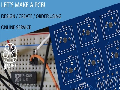 Let's make a PCB using an online service for professional results!  Tutorial