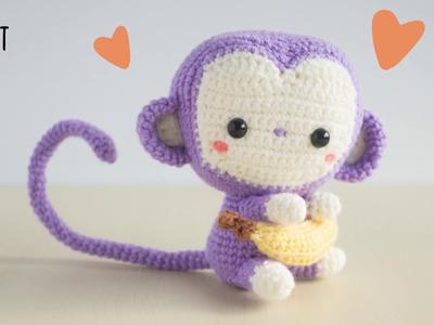 Monkey loves banana!