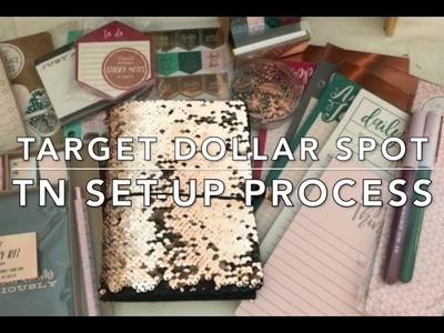 Part 1: Traveler's Notebook Set-up - Using Target Dollar Spot Stationary Sets