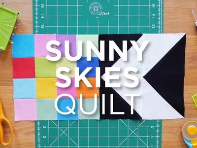 Quilt Snips Mini Tutorial - Sunny Skies Quilt