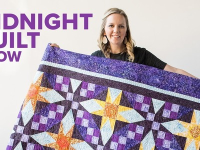 """Rising Star"" Beginner Paper Piecing Quilt 
