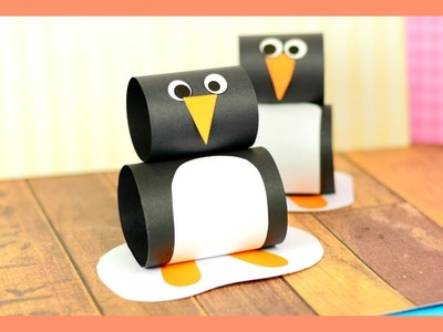 Simple Paper Penguin Craft for Kids