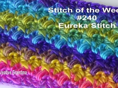 Stitch of the Week #240 Eureka Stitch Pattern