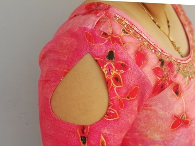 Very pretty sleeves design making with very easy way