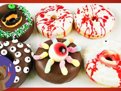 5 Donut Ideas for Halloween ???? Monster Donuts Decoration ???? Party Idea