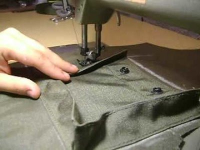 Cargo Vest Installing the pocket part 1