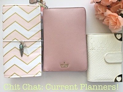 CHIT CHAT: PLANNER UPDATE! | USING 3 PLANNERS, MY NEW FAUXDORI, AND GOING RINGLESS?!