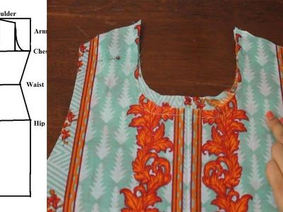 Churidar. Salwar  Cutting and Stitching Tutorial- Easy DIY
