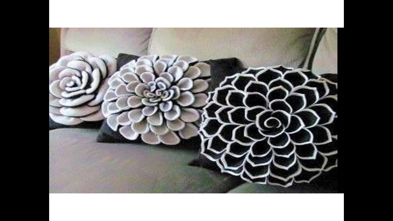 Diy Decorating Ideas Cushion Cover Idea Smocked Pillow