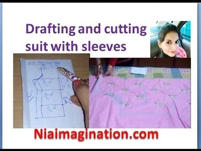 Draft and cutting suit with sleeves for beginners | in English