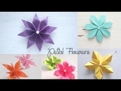 Easy Petal Flowers